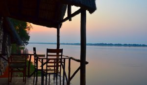 lower zambezi lodge sunrise views