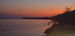 Sunset Lower Zambezi Lodge