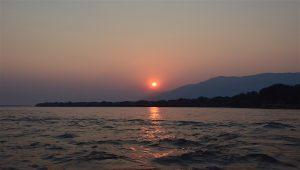 lower zambezi lodge sunset